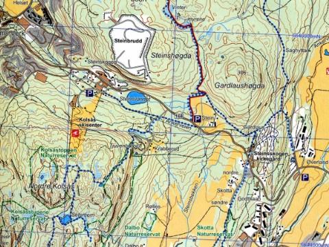 topografisk kart Kart på naturleksikon.no   nettportal topografisk kart